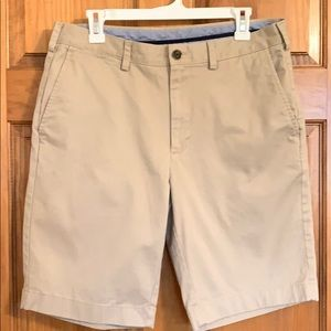Brooks Brothers Flat Front Shorts  size 34
